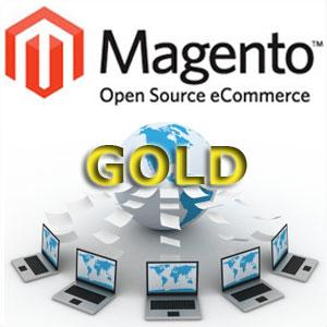 Gold Magento Transactional Website Design Package