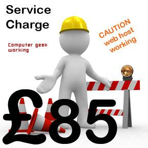 Webmaster Service Charge B