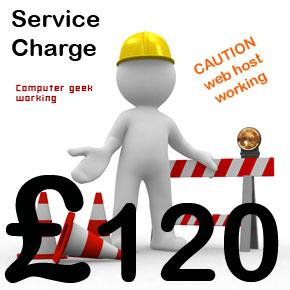 Webmaster Service Charge C