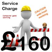 Webmaster Service Charge D