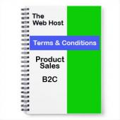 Website Terms and Conditions Product Sales B2C